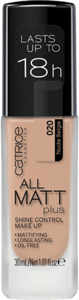 CATRICE ALL MATT PLUS SHINE CONTROL MAKE UP 020 NUDE BEIGE