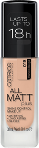 CATRICE ALL MATT PLUS SHINE CONTROL MAKE UP 015 VANILLA BEIGE
