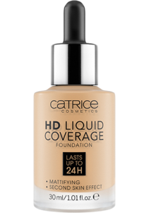 CATRICE HD LIQUID COVERAGE FOUNDATION 036 HAZELNUT BEIGE