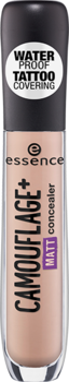 ESSENCE CAMOUFLAGE+ MATT CONCEALER 20 LIGHT IVORY
