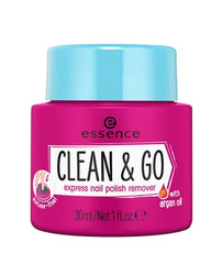 essence clean & go express nail polish remover