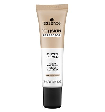essence my SKIN PERFECTOR TINTED PRIMER 20