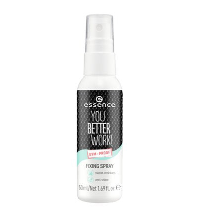 ESSENCE YOU BETTER WORK FIXING SPRAY TRANSPARENT