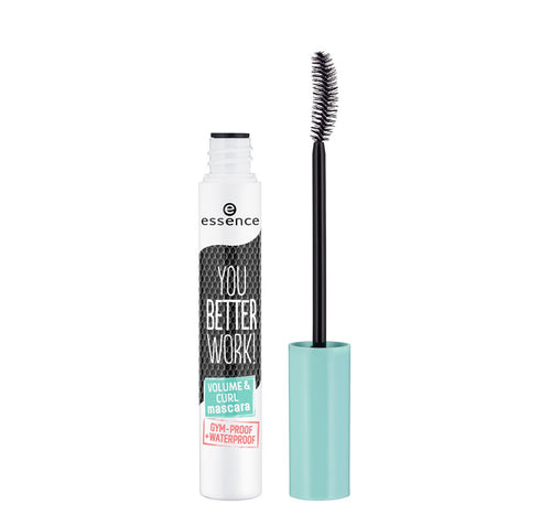 ESSENCE Y.B.W. VOLUME & CURL MASCARA BLACK
