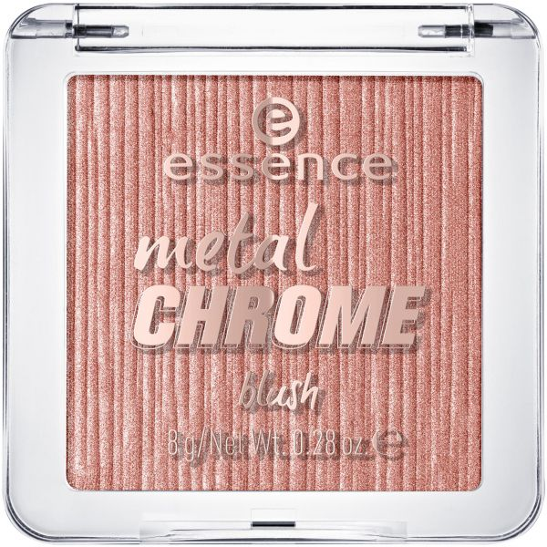 Essence Metal Chrome Blush my name is gold rose gold