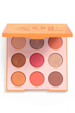 anastasia SUNSET EYE SHADOW QUAD