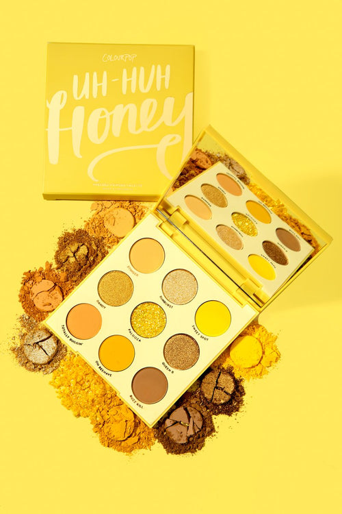 colour pop UH-HUH HONEY Shadow Palette