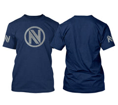 Team EnVyUs Metallic Silver Tee