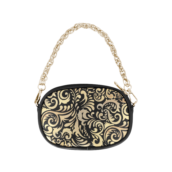 """Gold Vision"" Round Shoulder Purse - Livin' the MAD Life"