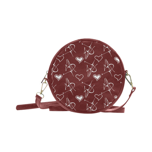 MAD Logo Round Shoulder Purse