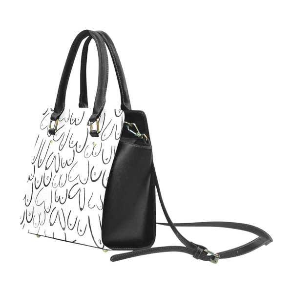 "Interational Women's Day ""Boobies"" Handbag - Livin' the MAD Life"