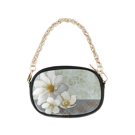 """Gold Vision"" Round Shoulder Purse"