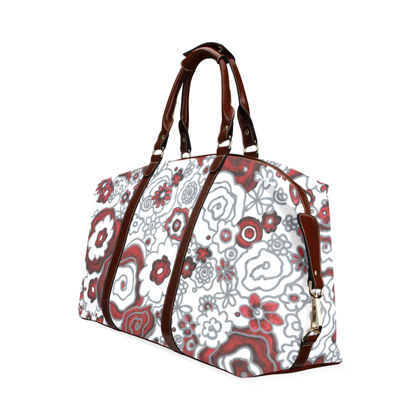 """Frida Flowers"" Travel Bag - Livin' the MAD Life"