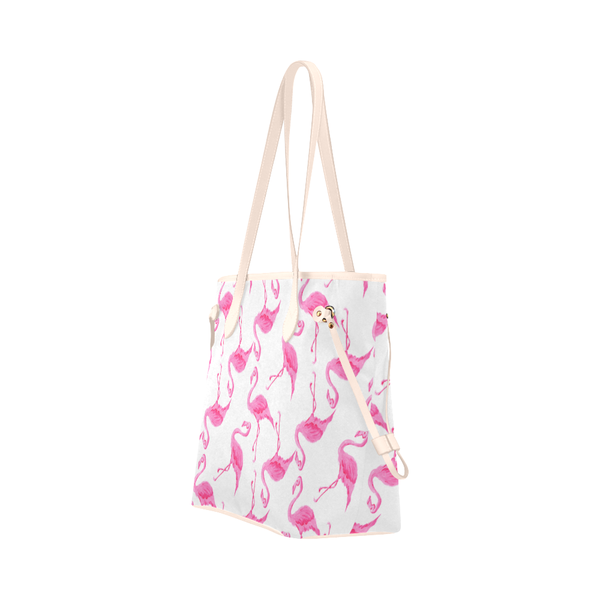 """Pink Flamingos"" Canvas Tote - Livin' the MAD Life"