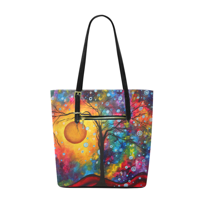 """Rainbow Dreams"" Pleather Tote Bag - Livin' the MAD Life"