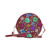 Spring Floral Round Shoulder Purse - Livin' the MAD Life