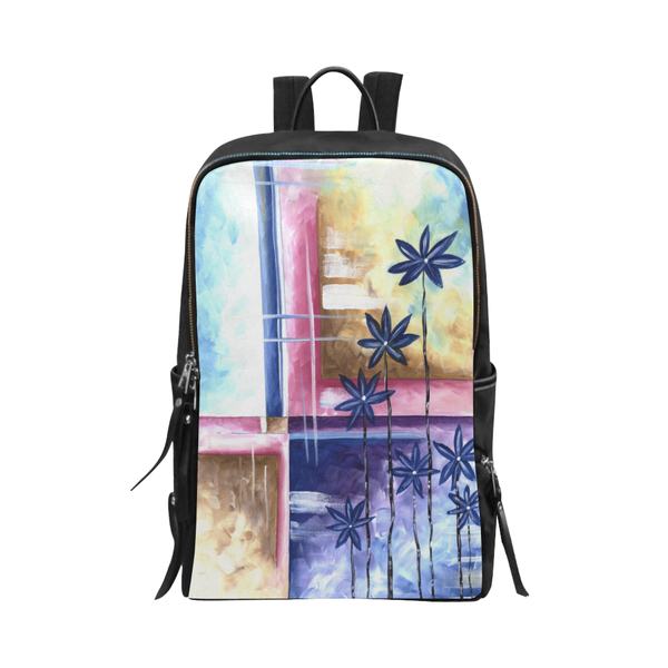 """Purple Sprouts"" Backpack - Livin' the MAD Life"