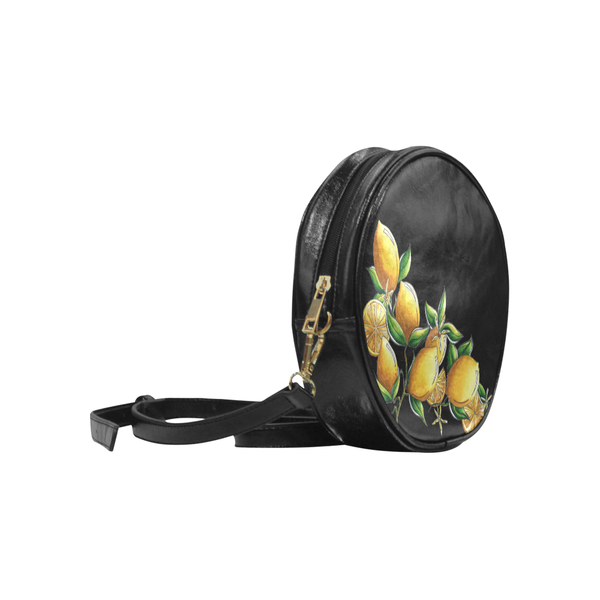 """Summer Citrus"" Round Shoulder Purse - Livin' the MAD Life"