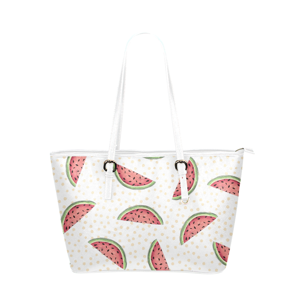 """Summer Treat"" Pleather Tote Bag - Livin' the MAD Life"