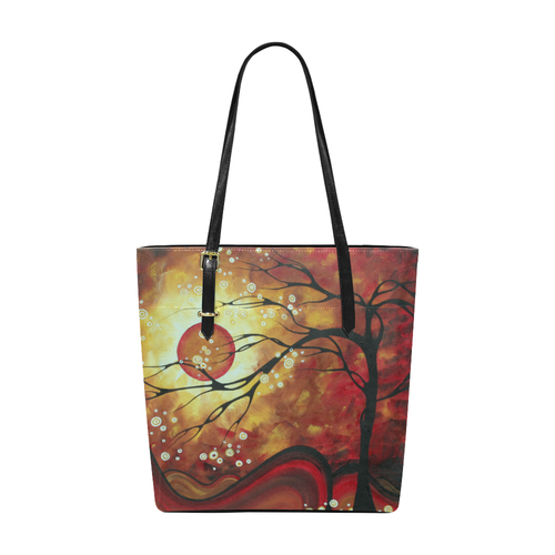 """Sweeping Tendrils"" Pleather Tote Bag - Livin' the MAD Life"