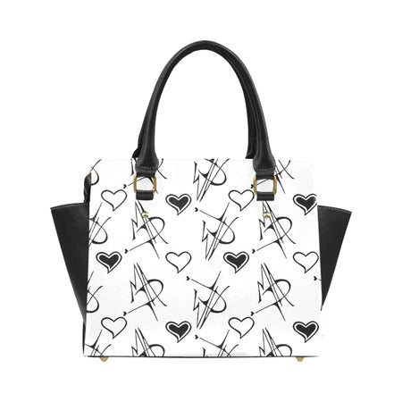 """MAD Symbols"" Classic Shoulder Handbag"