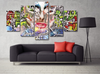 5 Piece Canvas Collection