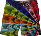 Glass Collection - Custom Swim Shorts - A.WAB by O.vahFx