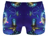 Man Behind Moon and Stars Glow Fx - Underwear