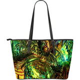 Dazzle Me Fx - Large Leather Tote