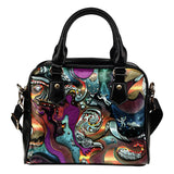 Art without a brush and a pencil Fx - Shoulder Handbag