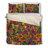 Glass Collection Fx - Black Duvet Cover - Colored Glass