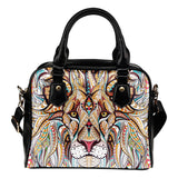 A beaded King Fx - Shoulder Handbag