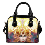 All Seeing Oracle Fx - Shoulder Handbag - Hope McClure Art vs AWAB by OvahFx