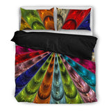Glass Collection Fx - Black Duvet Cover - Blast