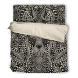 Glass Collection Fx - Black Duvet Cover