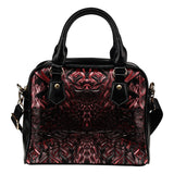 Black Rose Thorn Fx - Shoulder Handbag