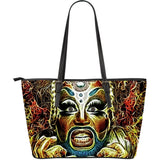 Fracking Glambustion Fx - Large Leather Tote
