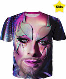 Be Yourself Club Kid Fx - Kids T Shirt -  Ft Earth Intruder - Rainbow Kids Collection