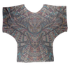 Glass Collection Fx - Owl Glass  Sublimation Batwing Top
