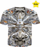 Designed Collection Fx - Kid's T Shirt - Faces of Orin Fx
