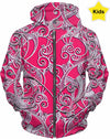 Designed Collection Fx - Kid's Hoodie -  Iheart Pink
