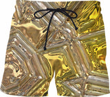 Gold Collection Fx - Custom Swim Shorts - AWAB by OvahFx