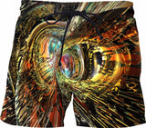 ColorFast Tiger Gold Fx - Swim Shorts - A.WAB by O.vahFx