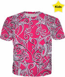 Designed Collection Fx - Kid's T Shirt  - Iheart Pink