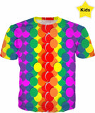 Designed Collection - Kid's T Shirt - Neon Kids Safe Collection