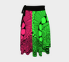 Neon  Bubble Gum Fx - Kimo Wrap Skirt