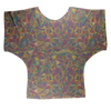 Glass Collection Fx - Rainbow Glass  Sublimation Batwing Top