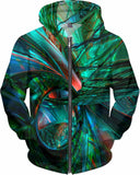 Metal and Shattered Glass Fx - Hoodie - AWAB by OvahFx