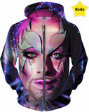 Be Yourself Club Kid Fx - Kids Hoodie Ft Earth Intruder - Rainbow Kids Collection