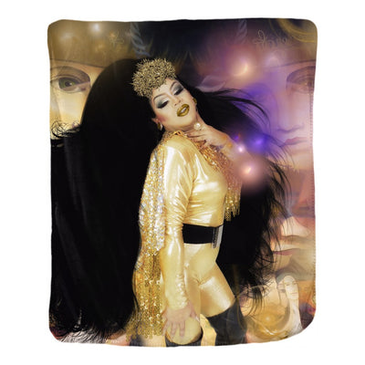Tp Lords - Queens and Kings Fx- Velveteen Blanket - Glam Home Accents